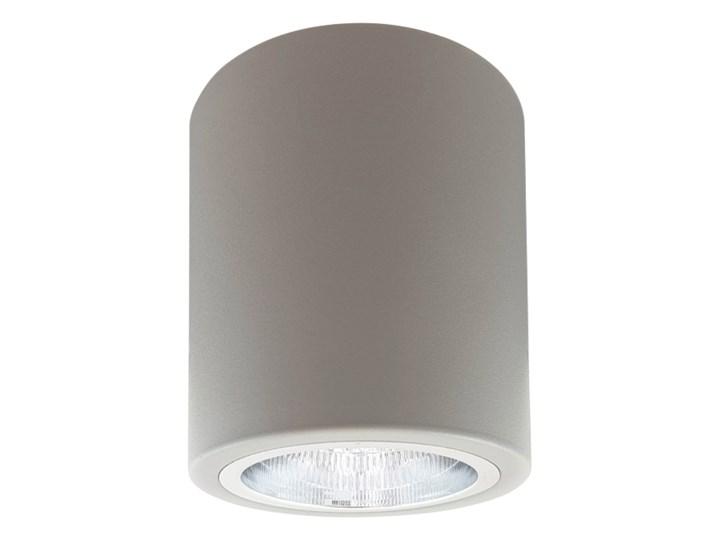 Oprawa natynkowa Polux Merkury okrągła 10 cm szara Oprawa halogenowa Okrągłe Oprawa stropowa Kategoria Oprawy oświetleniowe