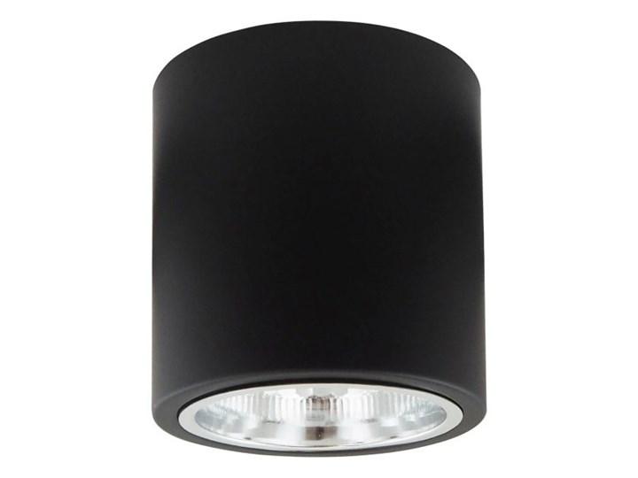Oprawa natynkowa Polux Merkury okrągła 13 cm czarna Oprawa stropowa Kolor Czarny Okrągłe Oprawa halogenowa Kategoria Oprawy oświetleniowe