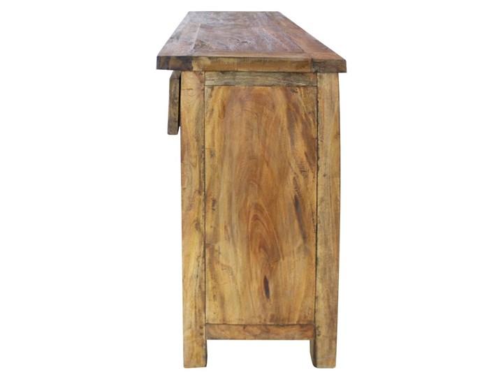 vidaXL Szafka, lite drewno z odzysku, 75 x 30 x 65 cm Szerokość 75 cm Głębokość 30 cm Szerokość 105 cm Z szafkami i szufladami Kolor Brązowy