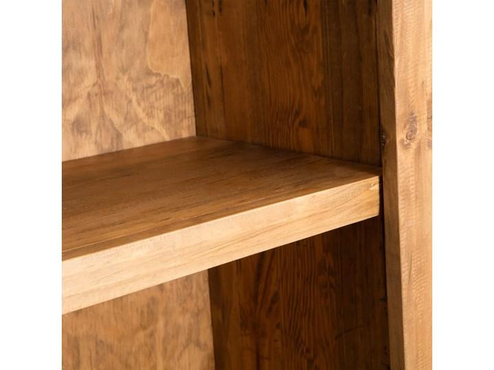 vidaXL Szafka do łazienki, lite drewno sosnowe z odzysku, 48x32x170 cm Kolor Beżowy Stojące Głębokość 32 cm Szerokość 48 cm Kategoria Szafki stojące