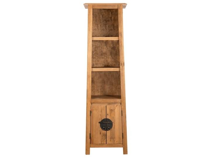 vidaXL Szafka do łazienki, lite drewno sosnowe z odzysku, 48x32x170 cm Stojące Głębokość 32 cm Szerokość 48 cm Kategoria Szafki stojące