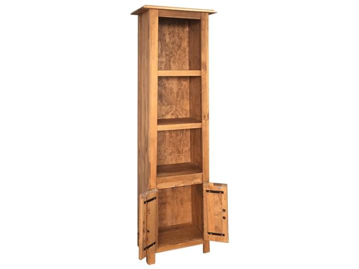 vidaXL Szafka do łazienki, lite drewno sosnowe z odzysku, 48x32x170 cm Szerokość 48 cm Głębokość 32 cm Stojące Kategoria Szafki stojące