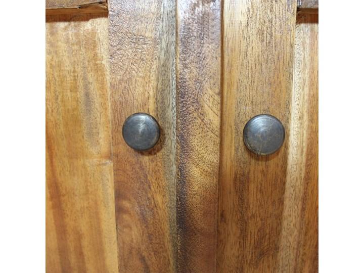 vidaXL Szafka, lite drewno z odzysku, 75 x 30 x 65 cm Z szafkami i szufladami Głębokość 30 cm Szerokość 105 cm Szerokość 75 cm Kolor Brązowy