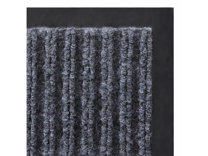 vidaXL Wycieraczka przed drzwi, PCV, 120 x 180 cm, szara Kategoria Wycieraczki Kolor Szary