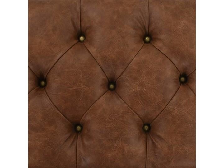 vidaXL Ławka ze schowkiem, lite drewno i sztuczna skóra, 80,5x41x50 cm Skrzynia Kolor Szary