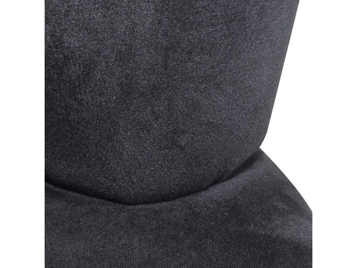 vidaXL Fotel w kształcie dłoni, czarny, aksamit Tkanina Kategoria Fotele do salonu