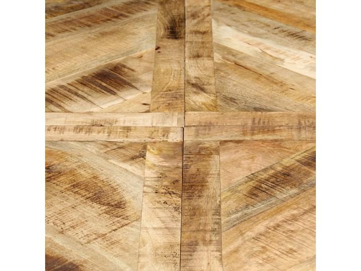 vidaXL Stół jadalniany, okrągły, 150 x 76 cm, lite drewno mango Rozkładanie Długość 150 cm  Pomieszczenie Stoły do jadalni