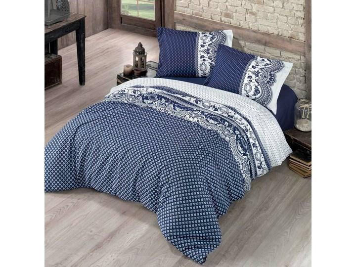 Pościel bawełniana Canzone niebieska, 140 x 200 cm, 70 x 90 cm, 140 x 200 cm, 70 x 90 cm