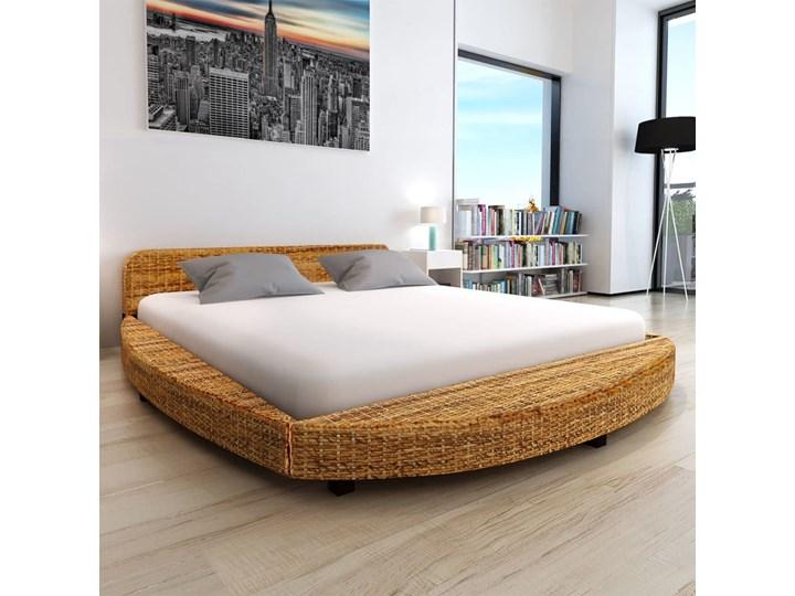 vidaXL Rama łóżka, abaka, 180x200 cm