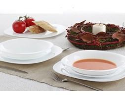Serwis obiadowy CARINE WHITE na 6 osób (18 el.)