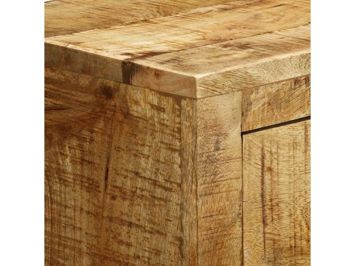 vidaXL Komoda z 3 szufladami, surowe drewno mango Z szufladami Kategoria Komody Głębokość 30 cm Styl Rustykalny