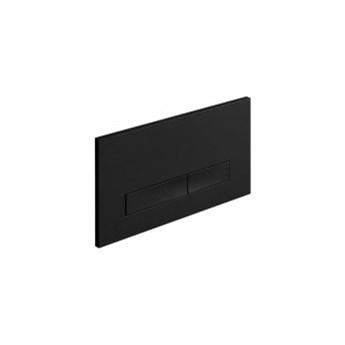 Button02 przycisk do stelaża wc czarny matt (HLST056)