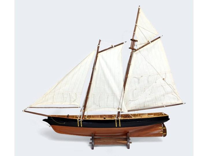 Drewniany model żaglowca, model statku 67/57 cm