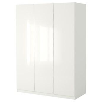 IKEA PAX Szafa, biały/Fardal połysk/biel, 150x60x236 cm