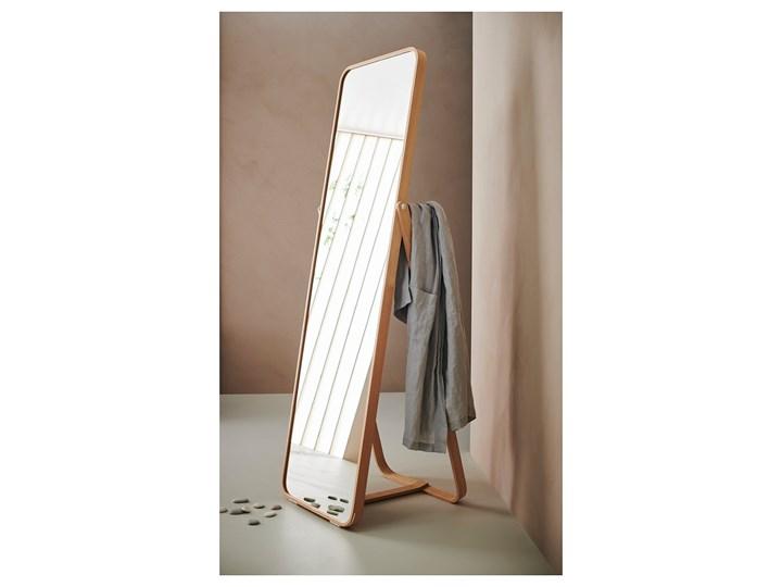 IKORNNES Lustro stojące Pomieszczenie Przedpokój Lustro z ramą Prostokątne Pomieszczenie Garderoba