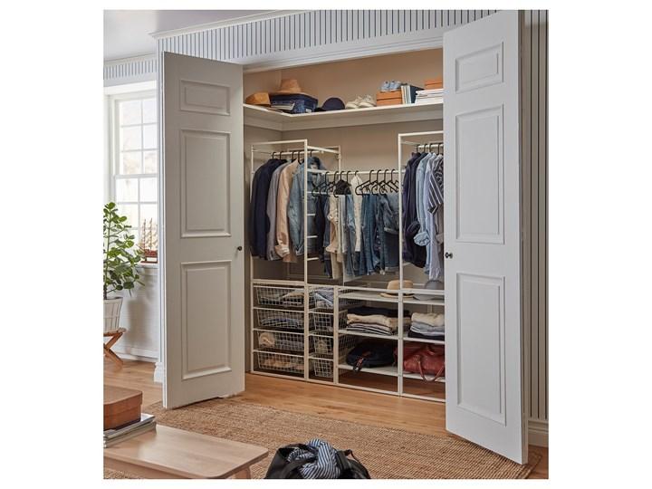 IKEA JONAXEL Kombinacja szafy, biały, 173x51x173 cm Stal Metal Styl Nowoczesny Typ Modułowa