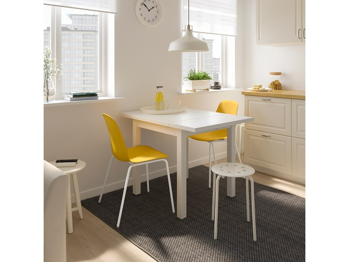 NORDVIKEN / LEIFARNE Stół i 2 krzesła Pomieszczenie Jadalnia