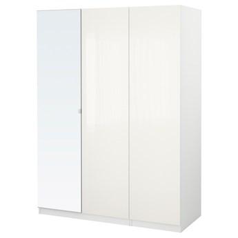 IKEA PAX Szafa, biały/Fardal Vikedal, 150x60x201 cm