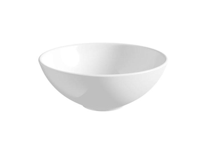 UMYWALKA CERAMICZNA NABLATOWA HELENA Szerokość 32 cm Okrągłe Nablatowe Ceramika Meblowe Kategoria Umywalki