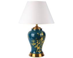 Lampa stołowa ceramiczna BUENO L Green zielona