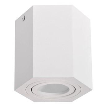 Oprawa natynkowa Polux Hexagon 1 x 10 W GU10 biała