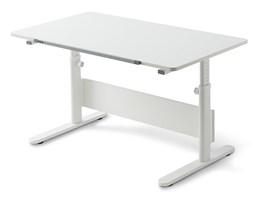 Białe biurko z regulowaną wysokością Flexa Evo Full