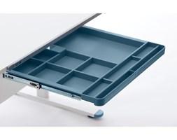 Niebieska dodatkowa szuflada do biurka Flexa Evo