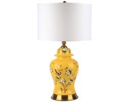 Lampa stołowa ceramiczna PRATO Yellow L