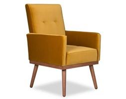 Krzesło Klematisar welurowe (Deluxe - welur łatwozmywalny INDIGO :deluxe/INDIGO)