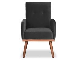 Krzesło Klematisar welurowe (Welur bawełna 100% SZARY :welur/SZARY)