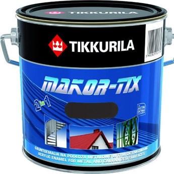 Farba na ocynk Tikkurila Makor-Tix grafitowy 3l