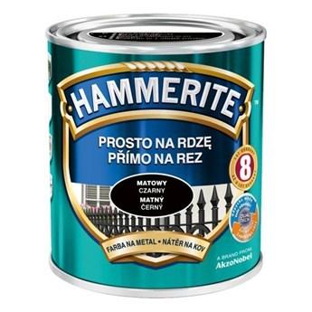 Farba Hammerite Prosto na rdzę 2,5 l Czarny matowy