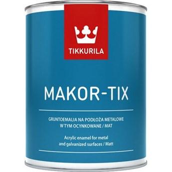 Farba Makor-Tix brązowy czekoladowy 3L TIKKURILA