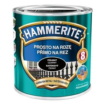 Farba Hammerite Prosto na rdzę 2,5 l Czarny półmat