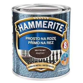 Farba Hammerite na rdzę 2,5l Brązowy młotkowy