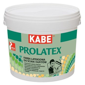 Prolatex KABE 10L Półmat Biały 10 l