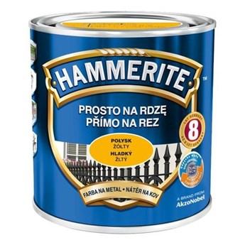 Farba Hammerite na rdzę 2,5 l Żółty połysk