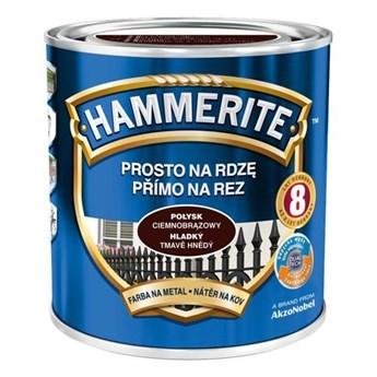 Farba Hammerite na rdzę 2,5 l Ciemnobrązowy połysk