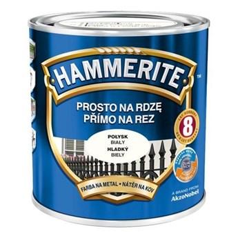 Farba Hammerite Prosto na rdzę 2,5 l Biały połysk