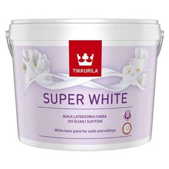 Farba lateksowa Super White Tikkurila 10 L