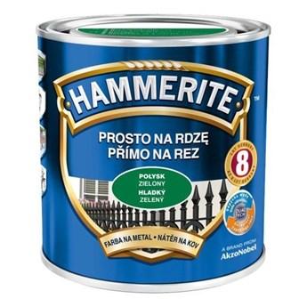 Farba Hammerite Prosto na rdzę 2,5l Zielony połysk