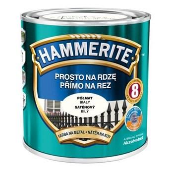 Farba Hammerite Prosto na rdzę 2,5 l Biały półmat