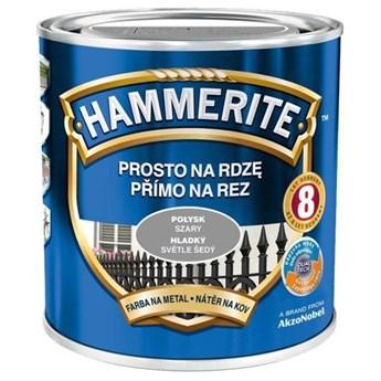 Farba Hammerite Prosto na rdzę 2,5 l Szary połysk