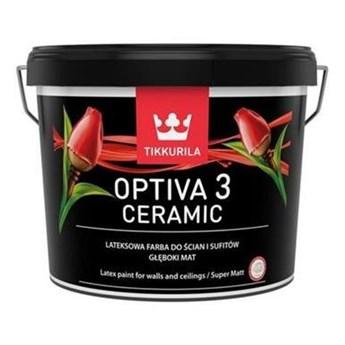 Tikkurila OPTIVA 3 Super Matt Ceramic baza A 9L