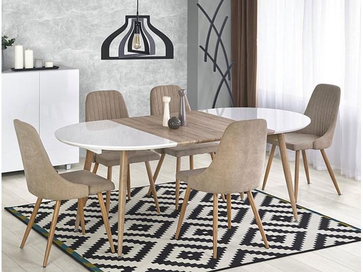 Krzesło tapicerowane Isent - jasny popiel Tkanina Styl Klasyczny Styl Nowoczesny