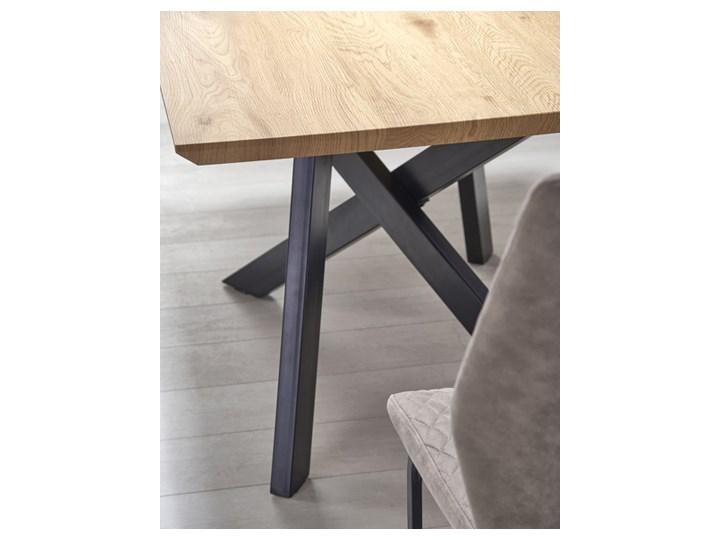 Stół rozkładany Fabier - złoty dąb Szerokość 160 cm Drewno Długość 90 cm  Wysokość 76 cm Długość 160 cm  Kształt blatu Prostokątny