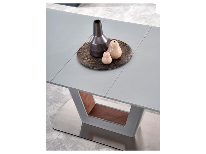 Rozkładany stół Tanum - jasny popiel Szerokość 90 cm Długość 90 cm  Długość 200 cm  Wysokość 76 cm Stal Długość 160 cm  Płyta MDF Rozkładanie