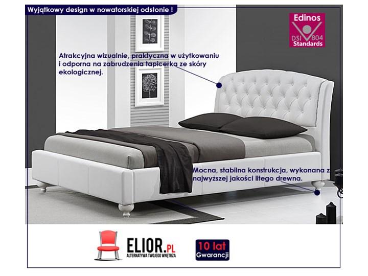 Łóżko tapicerowane do sypialni Nexin Rozmiar materaca 160x200 cm