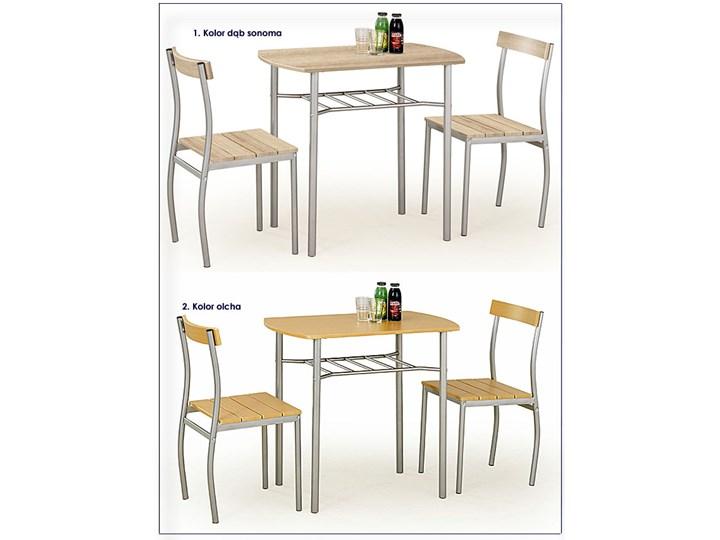 Stół z krzesłami Twiner - biały Pomieszczenie Jadalnia