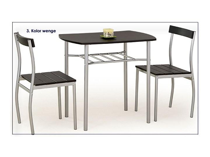 Stół z krzesłami Twiner - biały Liczba krzeseł 2 krzesła